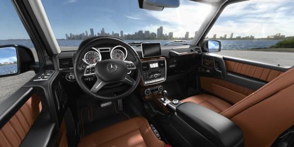 2018 Mercedes-Benz G-Class interior