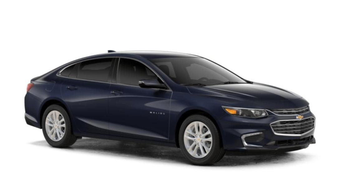 2018 Chevrolet Malibu exterior