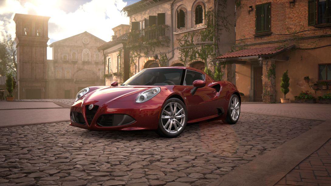 2018 Alfa Romeo 4C exterior
