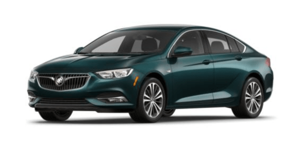 2018 Buick Regal exterior
