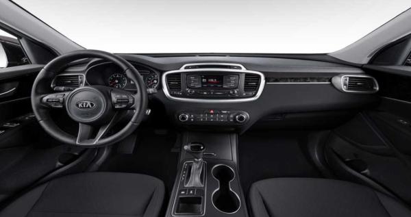 2018 Kia Sorento interior