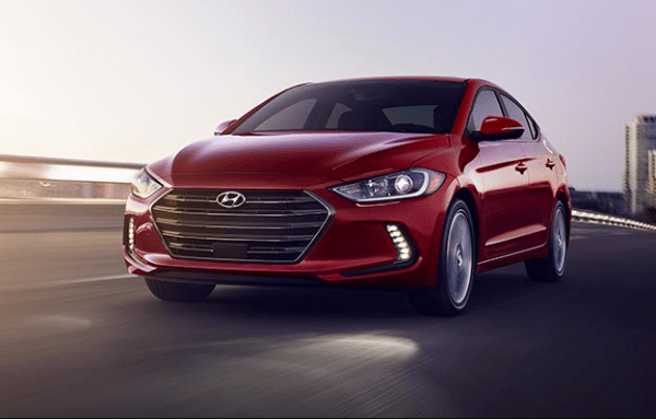 2018 Hyundai Elantra exterior