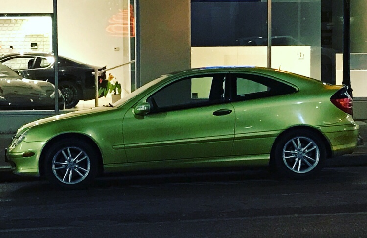 Street Sighting: Early 2000's Mercedes-Benz C-Class Coupe