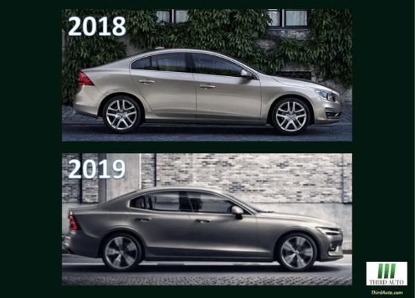 2018-2019 Volvo S60 profile