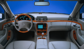 Mercedes-Benz W140 interior