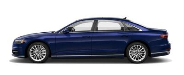 2019 Audi A8 Navarra Blue