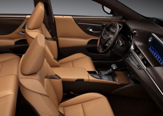 2019 Lexus ES Flaxen interior