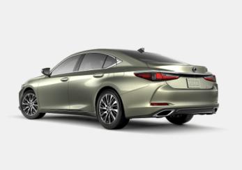 2019 Lexus ES rear