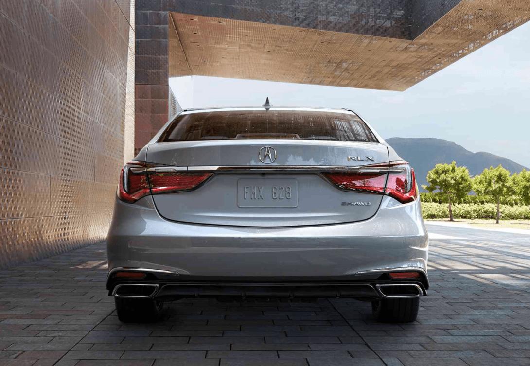 2019 Acura RLX exterior rear