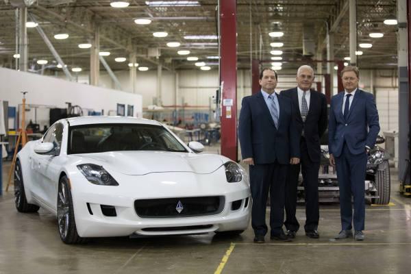 VLF Automotive Bob Lutz, Gibert Villarreal, Henrik Fisker