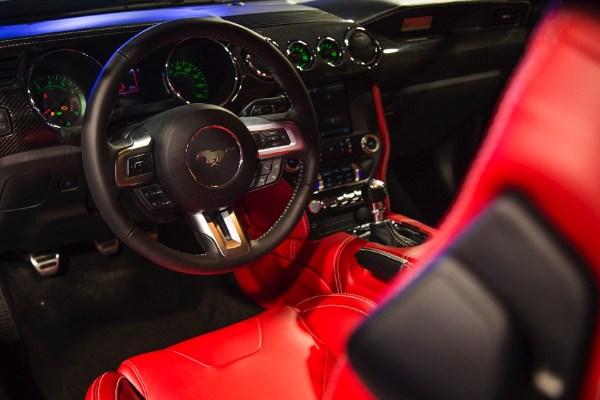 VLF Rocket V8 interior