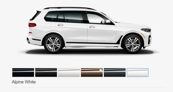 2019 BMW X7 Alpine White