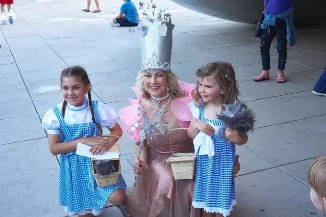 Linda Kollmayer as Good Witch Wizard of Oz 071019