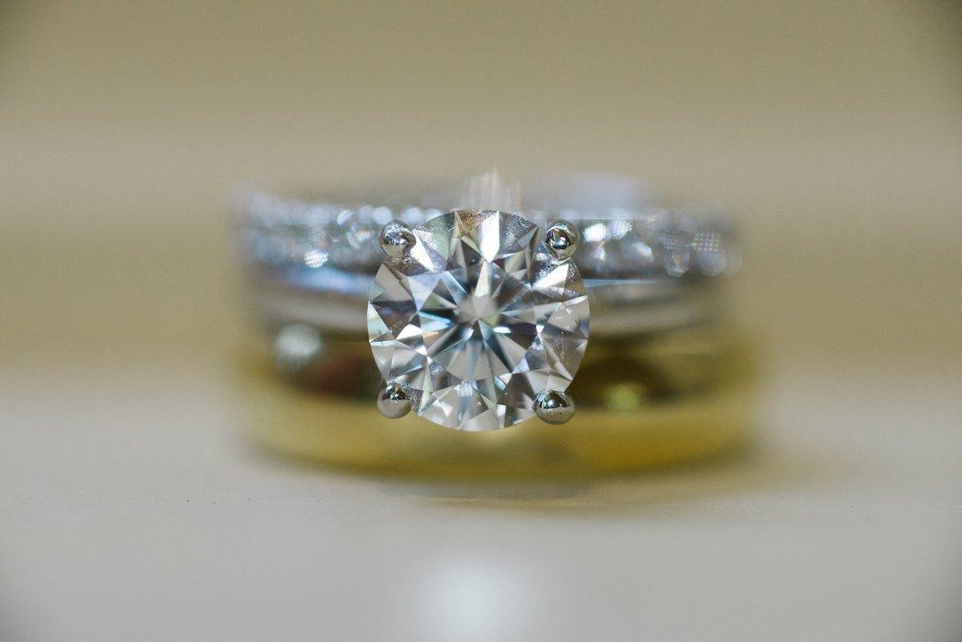 Cartier Wedding Ring Calistoga Ranch Wedding