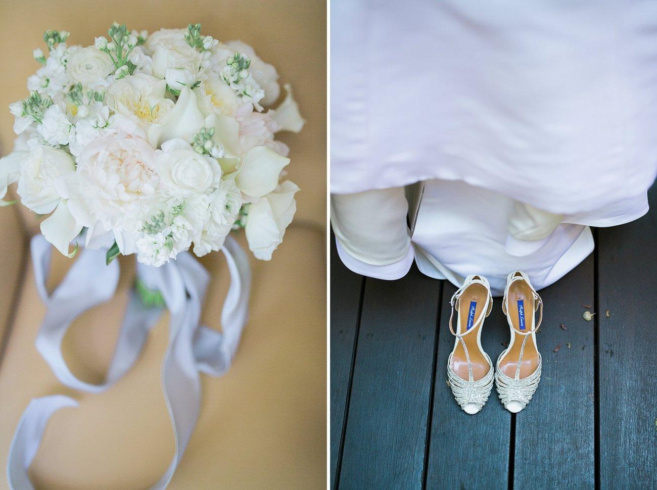 Manique Lhuillier Gown Ralph Lauren Shoes