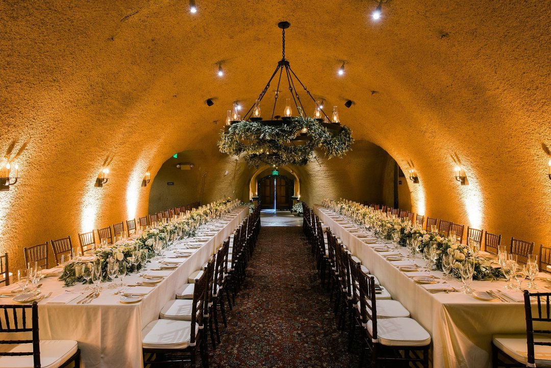 Vineyard Cave Wedding Reception