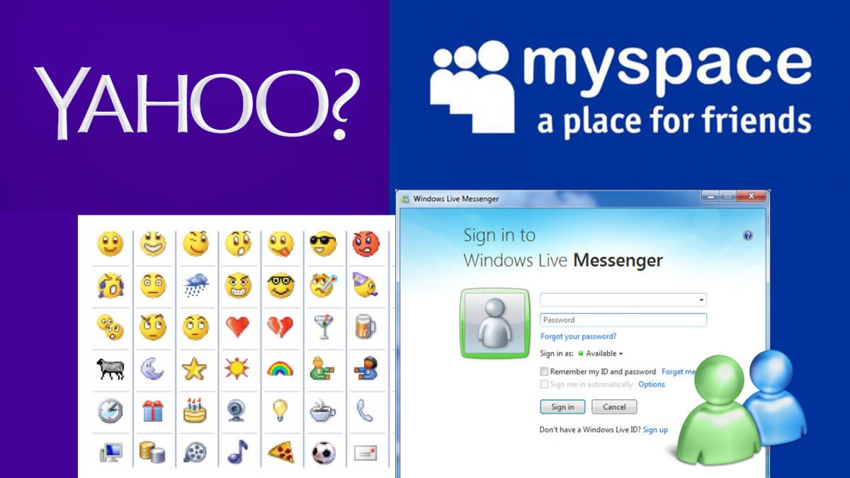 Of Myspace and MSN | the internet before Facebook - The
