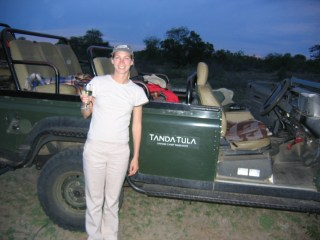 Night Safari in South Africa