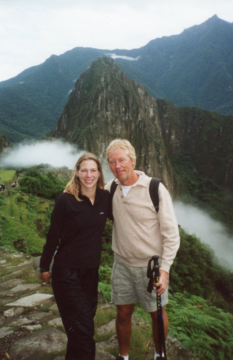 Machu Picchu Father Daughter Travel