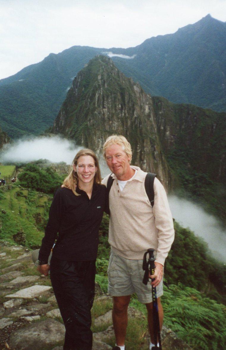 Machu Picchu Father Daughter Travel