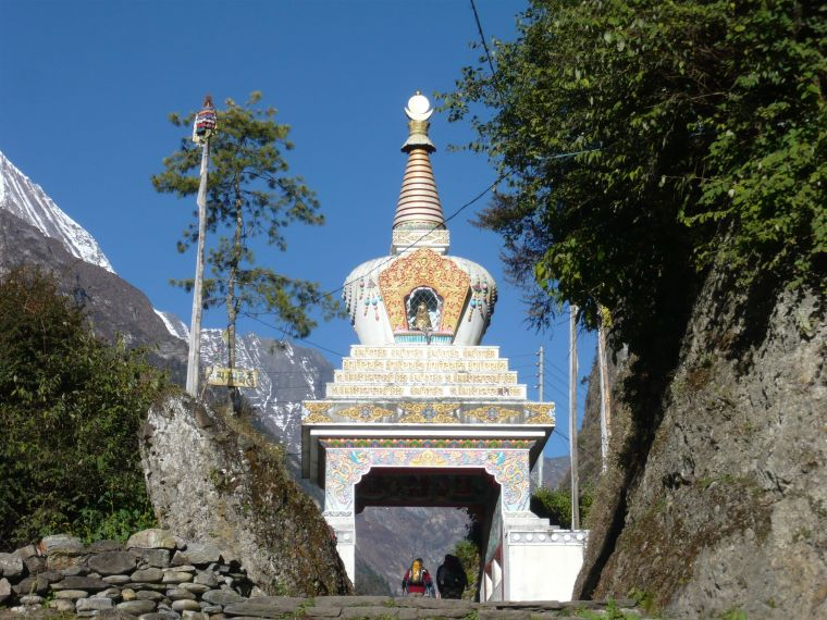 Temples in Nepal Annapurna