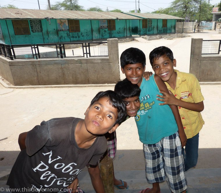 The children of Indira Kalyan Camp