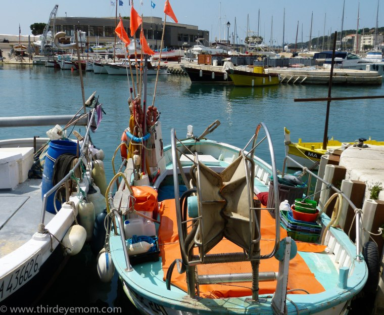The fishing boats of Cassis