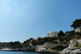 Beautiful houses along Cassis