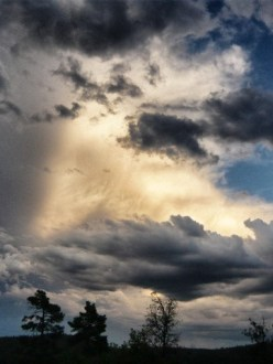 Monsoon clouds Arizona