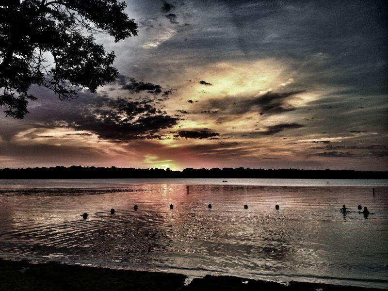 Sunset on Lake Harriet Minneapolis