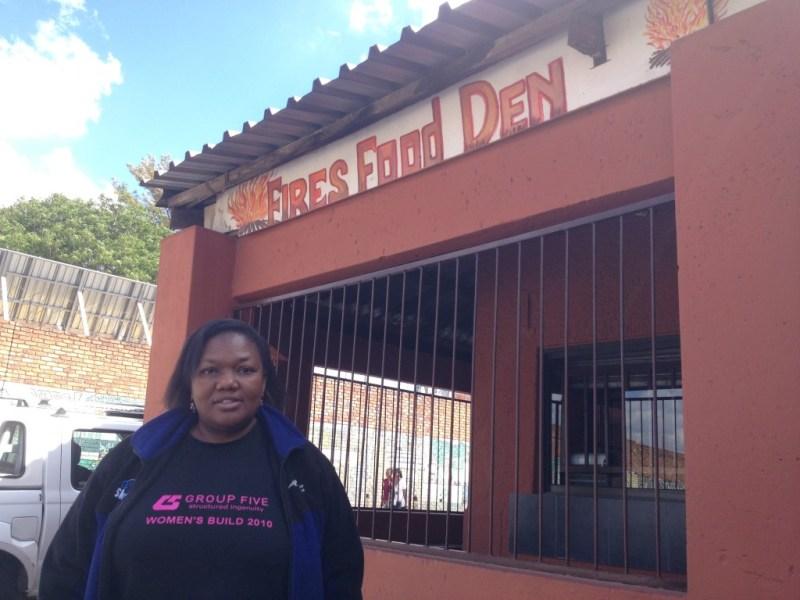 Phumzile Mthethwa owner of Fires Food Den