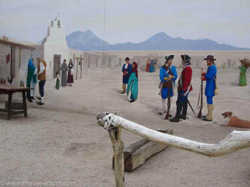 El Presidio. Tucson, Arizona