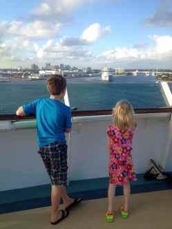 Waiting to set sail