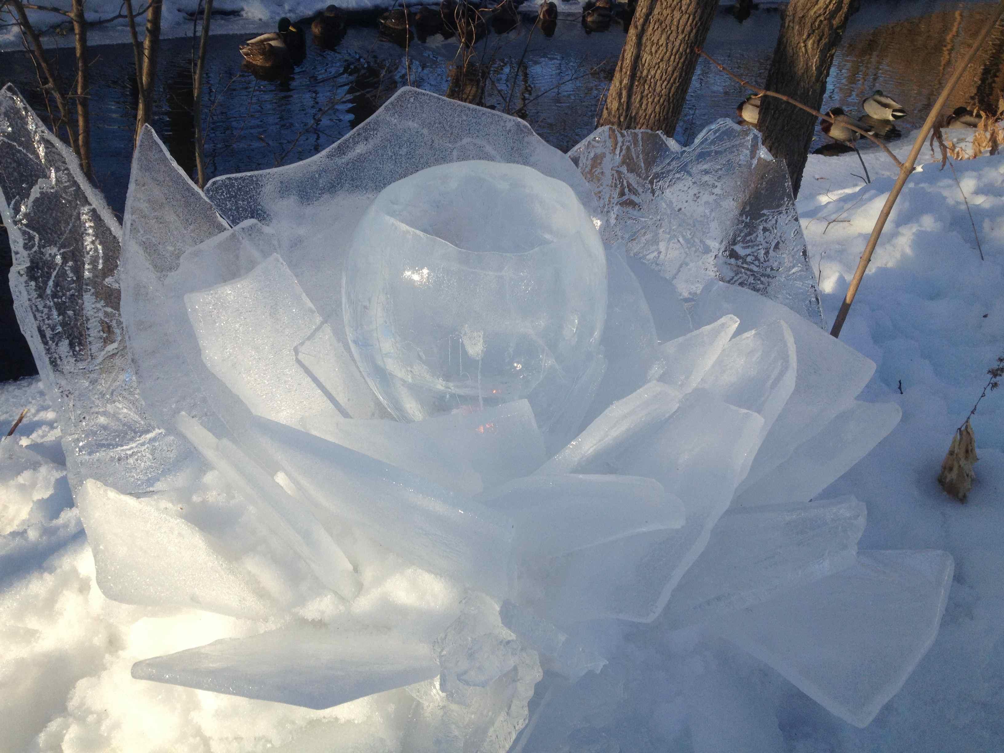 Ice votives