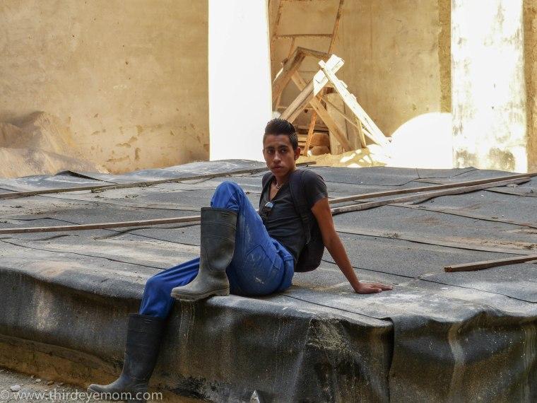 Cuban worker