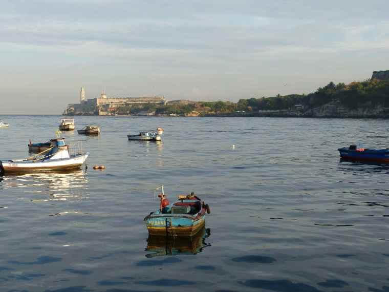 Fishing boats in Havana