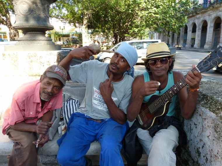 Street Musicians in Havana