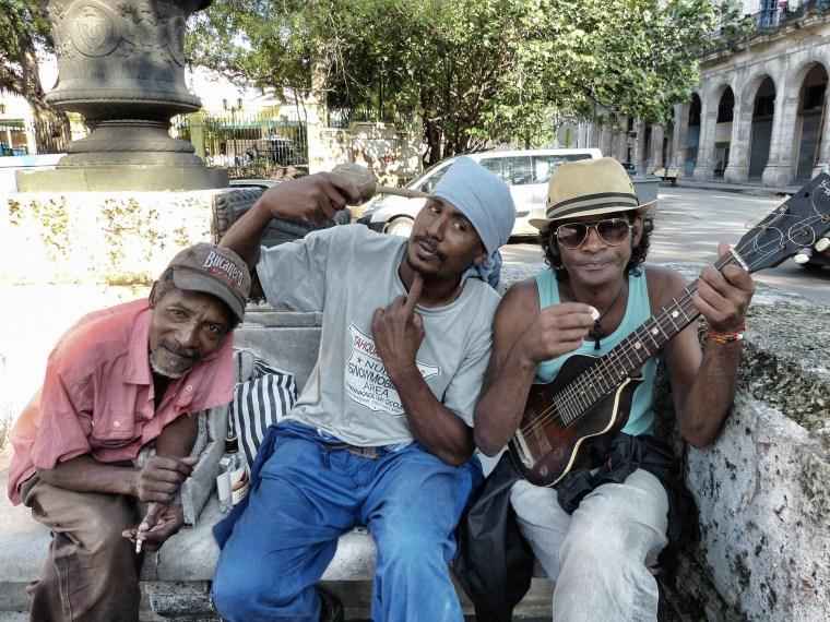 Los tres amigos de Cuba
