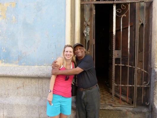 Me and Tomas in Havana, Cuba.