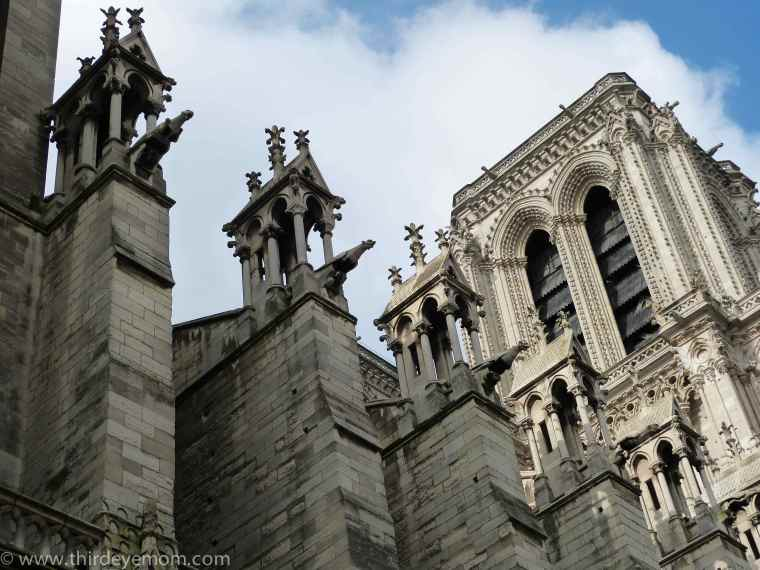 The Notre Dame Cathedral Paris