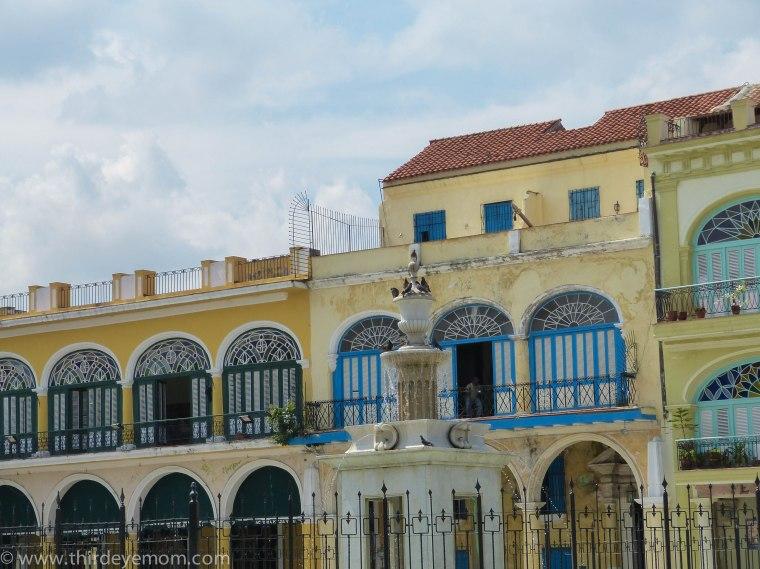 Plaza Vieja Old Havana Cuba