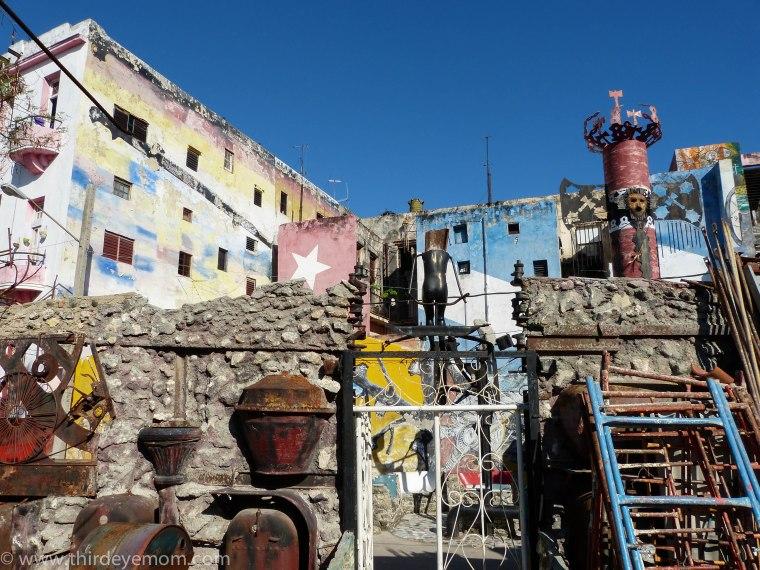 El Callejón de Hamel Havana Cuba