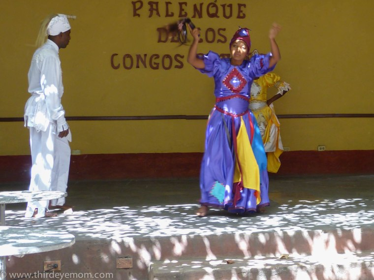 Afro-Cuban dancing in Trinidad