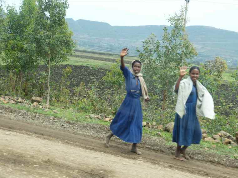 Rural Ethiopian women