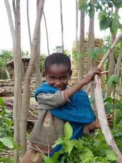 Boy at Mosebo village