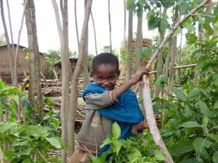 Boy at Mosebo village