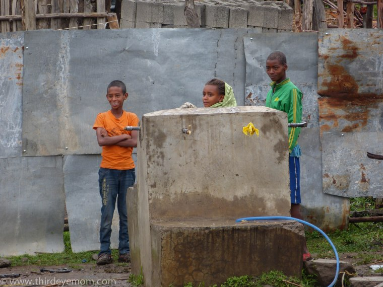 safe water in Rural Ethiopia