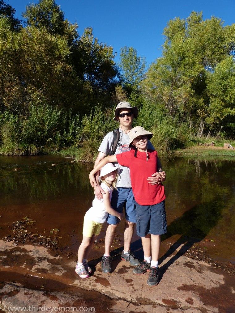My family: Paul, Max and Sophia.