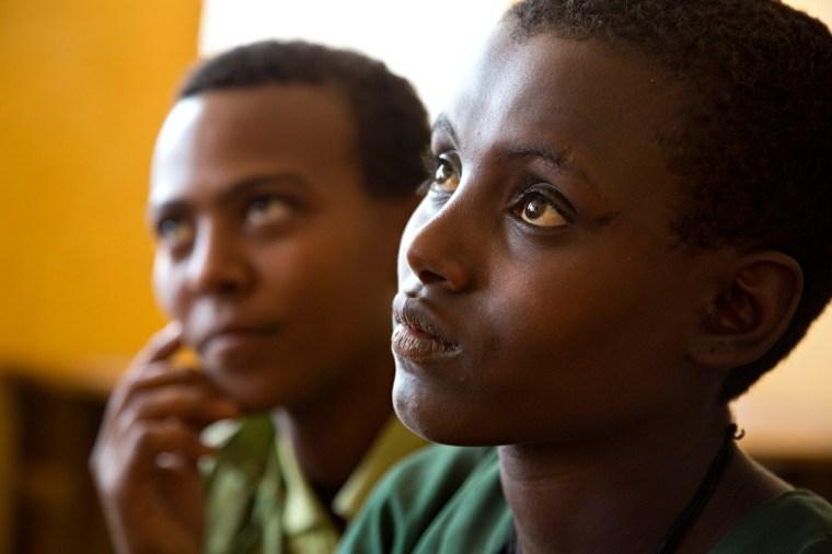 Two young girls near Bahir Dar, Ethiopia. Photo credit: Stephanie Sinclair