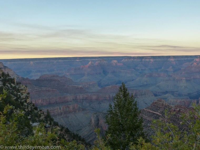 the Grand Canyon Arizona